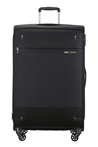 Samsonite Base Boost Spinner Large Expandable Luggage, Black, Checked – Large (Model:79202-1041)