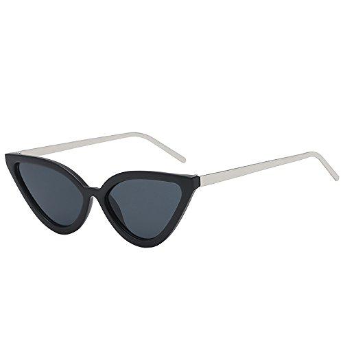 Wobang Gafas de sol vintage con ojo de gato para mujer, gafas de sol baratas para mujer 518 Talla única
