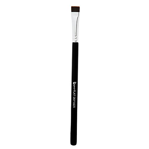 Flat Eyeliner Eyebrow Concealer Brush - Pro Small Flat Definer, Firm Stiff Thin Synthetic Bristle, Precision Lash Liner, Brow Conceal for Defining Shaping Eyebrows with Gel, Powder, Cream, Cake Makeup
