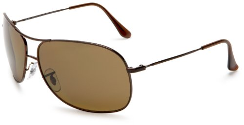 Ray Ban RB3267 Brown/Polar Brown Polarized Sunglasses (RB3267-014-83-64-13-125)