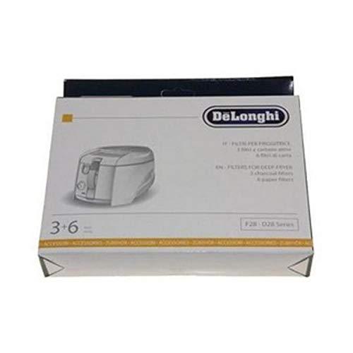 DeLonghi - Kit de filtros (122172-30672) para freidora 5512510041