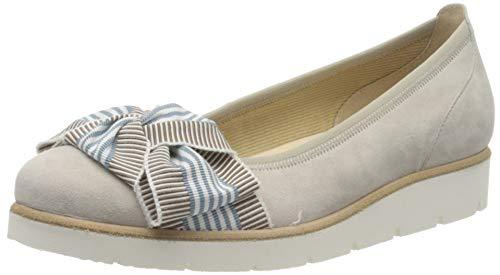 Gabor Shoes Gabor Casual, Ballerines Femme, Beige (Vanille 12), 38 EU