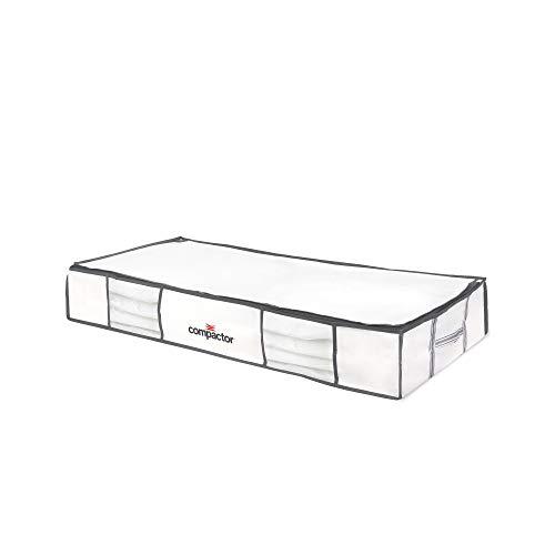 Compactor Housse de Rangement Sous Vide Life, Taille XL, 190L, Blanc, RAN3310