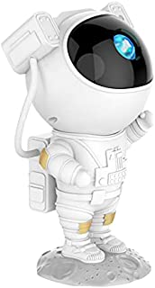 Kids Star Projector Night Light with Timer, Remote Control and 360°Adjustable Design, Astronaut Nebula Galaxy Night Light ...