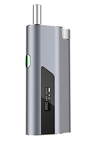 Rauchen Sie Ihre üblichen Zigaretten mit -74% Teer mit THHIS – Hybrid-System Heat-Not-Burn und E-Zigarette – Dark Grey