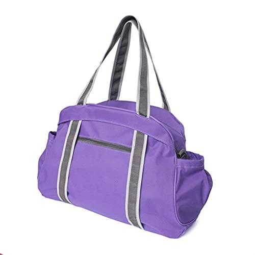 DHDHWL Bolsa Colchoneta Yoga Bolsas de alfombras de Yoga multifuncionales Oxford Sport Bag Pilates Fitness Bags Bag Gym Portable Portable Funda Bolsa Portátil (Farbe : Plum)
