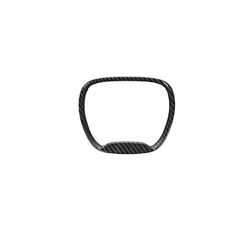 furong Accesorios de Fibra de Carbono Ajuste para Dodge Challenger 2015+ Decoración del Volante del automóvil Pegatinas FIT FOR para Durango 2014+ Ajuste para el Cargador 2015+