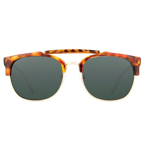 Maltessa Vicco Gafas de sol, Terra/Verde, 52 Unisex