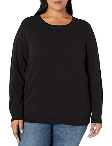 Amazon Essentials Plus Size French Terry Fleece Crewneck Sweatshirt Fashion-Hoodies, Cruz V2 Fresh Foam, 4X