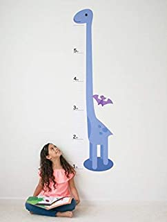 Oversize Planner by ABI Digital Solutions Dinosaur Growth Chart for Kids - Height Chart Wall Decal - Kids Height Wall Chart