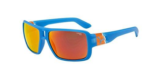 Cébé Lam Lunettes de soleil Matte Blue Orange 1500 Grey FM Orange Taille M