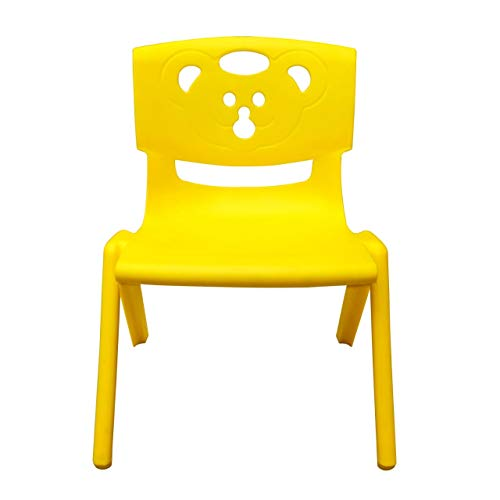 Sunbaby Magic Bear Face Chair Strong & Durable Plastic Best for School Study, Portable Activity Chair for Children,Kids,Baby...