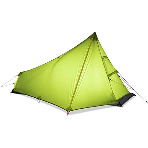 Ankon Tienda de Tiendas de Tiendas de cúpula compactas Ultralight Camping Tienda Individual Persona Fácil configuración Impermeable Portátil No Pole Tent Tienda instantánea para Caminatas Pesca Carpa