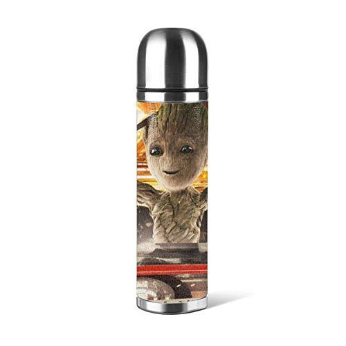 donghu Galaxy Guard Botella de agua de acero inoxidable de 17 onzas con aislamiento al vacío, botella de agua reutilizable de doble pared 2