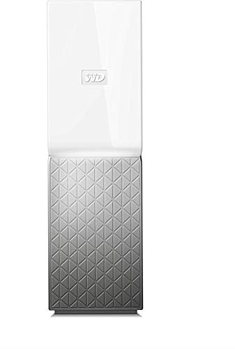 Western Digital WDBVXC0040HWT-EESN My Cloud Home Nube Personal, Ethernet, 4TB, Blanco/Gris