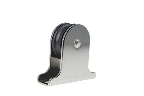 Arbo-Inox Miniblock - Stehblock - Umlenkrolle - Edelstahl - Kunststoffrolle