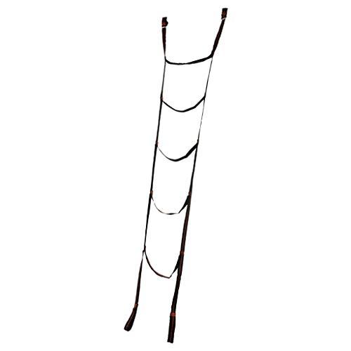 Baoblaze 5pcs Nylon Klettern Schaukel Tragbar Outdoor kletterleiter, max.200kg