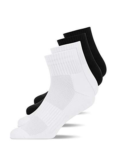 Snocks Laufsocken Damen Mix Größe 35-38 4X Paar Laufsocken Herren Laufsocken Damen 35-38 Sportsocken Damen 35-38 Running Socks Sport Socken
