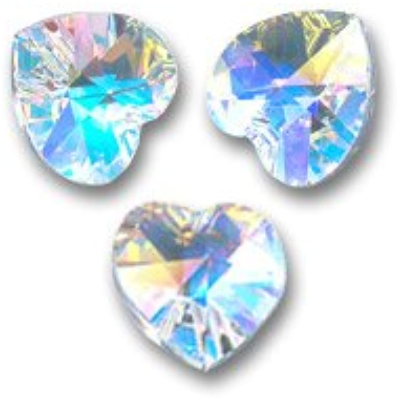 moda Corazones Swarovski 6228 Crystal Crystal Crystal AB 10,3x10 mm x288 pcs  para mayoristas