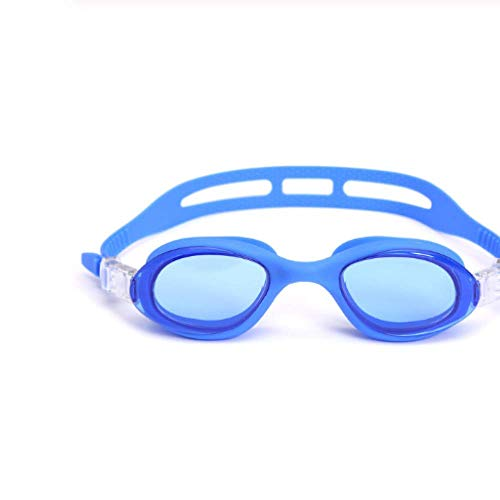 anruo Kinderen Zwembril Anti-mist Duikbril Verstelbare Oogkleding Trek Gesp Sport Kids Professionl Siliconen zwemglas