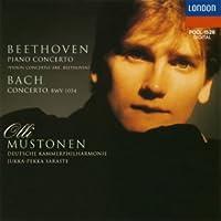 ベートーヴェン/バッハ:ピアノ協奏曲集(ヴァイオリン協奏曲より作曲者編)