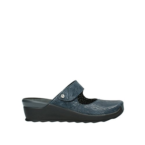 Wolky Comfort Clogs up - 70820 Denim canals - 40