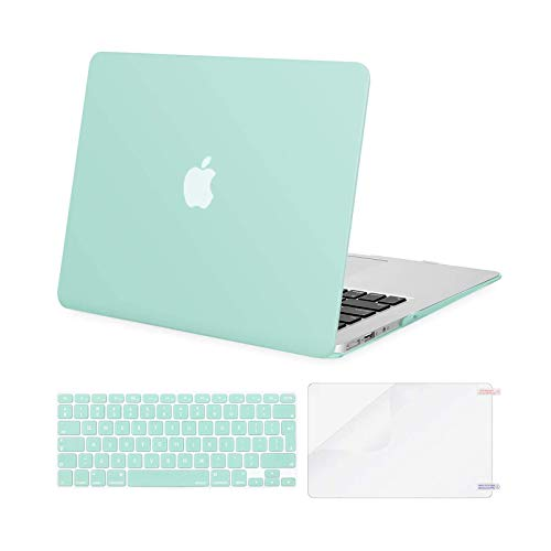 Macbook Air 13 Case Verde Marca MOSISO