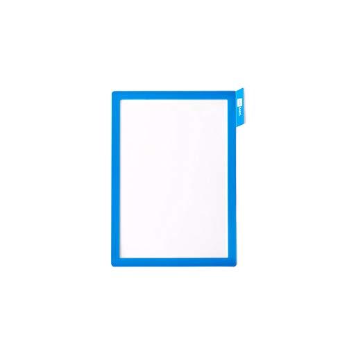 PATboard Scrum Board und Kanban Board - Magnetischer Dokumentenhalter A4 - Blau