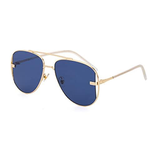 changjing Nuevas Gafas de Sol de Moda para Mujer, Celebridad en línea con Gafas de Sol de Sapo, Gafas de Sol para Mujer, Azul