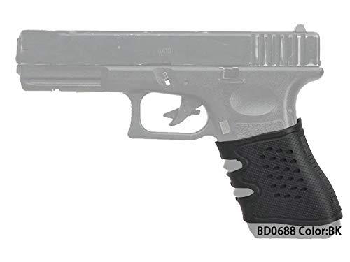 Paintball Equipment Universal Handwaffe Pistolengriff Gummi Pistole Griff (Schwarz)
