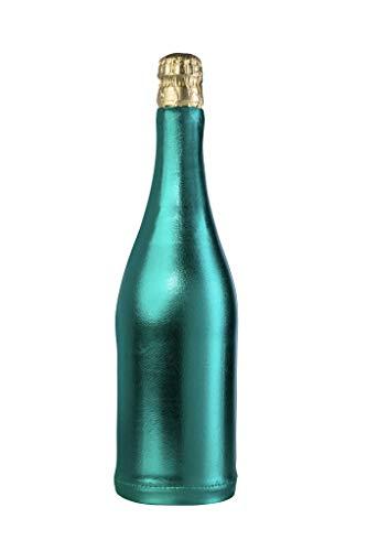 Lahousse Original paquete de regalo – Ideal para envolver botellas de champán y champán, funda  Cumpleaños  Boda  Decoración de fiesta  Decoración de mesa  para mujeres y hombres (verde)