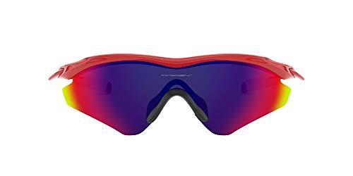 Oakley Gafas de sol Pantalla M2 Frame, Red/Positive Red Iridium (S3)