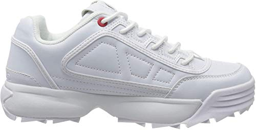 Kappa Unisex-Erwachsene Rave NC Sneaker, 1010 White, 39 EU