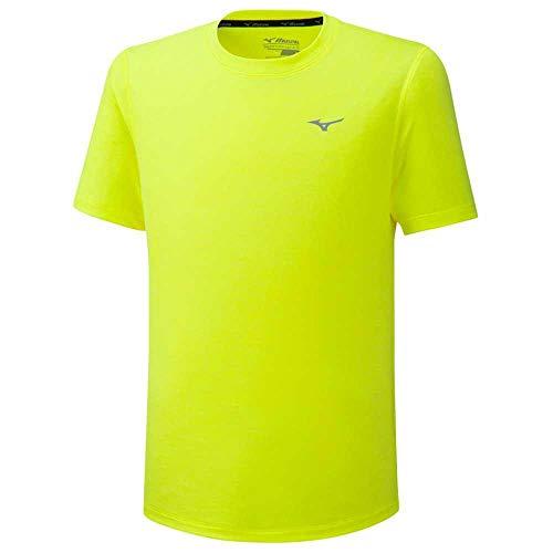 Mizuno Impulse Core Camiseta, Hombre, amarilllo, L