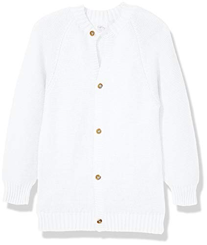 BC Collection KW009 Chaqueta y Abrigo para Niños, Color Blanco, 3 Años