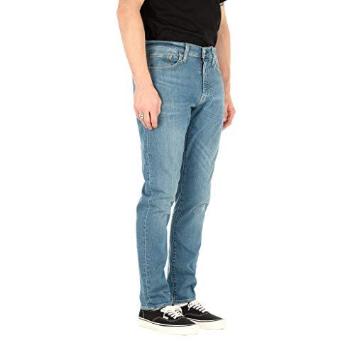 Levi's Hombre 512 Slim Taper Jeans, Azul, 36W x 32L