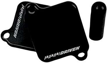 Driven Racing Engine Block-Off Plate Black for Yamaha YZF-R1 2004-2018