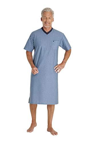 Hajo heren nachthemd - klimaatcomfort - met V-hals