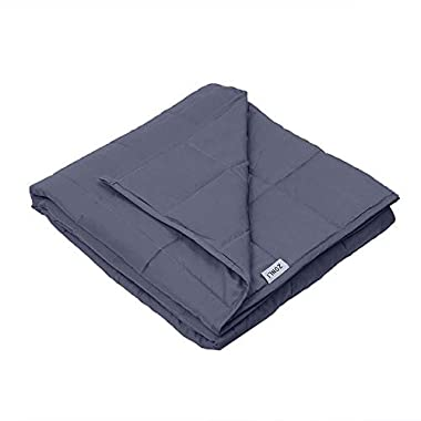 ZonLi Weighted Blanket Sleeper (60''x80'', 17lbs for 150-200lb Individual, Grey) for Adults Women, Men, Youths | Great for Autism, ADHD, Stress and Anxiety Relief | Fit King Sized Bed
