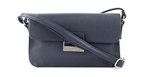 Gerry Weber Damen Schultertasche Talk Different II Tasche aus Polyurethan, 4080003706, Dunkel Blau 402