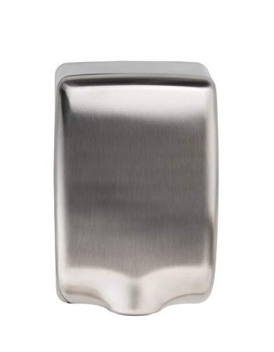 Handtrockner (224 mph) Hochgeschwindigkeits-Automatik Elektrischer Händetrockner für Badezimmer Gewerbe, kraftvoller Toiletten, Edelstahl, innovatives kompaktes Design, robust, einfache Installation