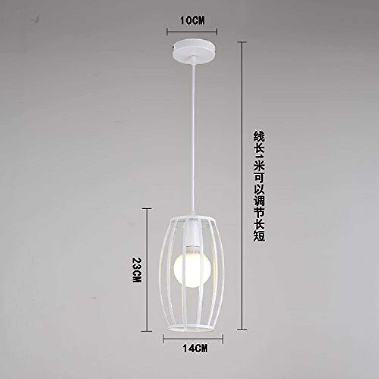 Luckyfree Kreative Modern Fashion Anhnger Leuchten Deckenleuchte Kronleuchter Schlafzimmer Wohnzimmer Küche, die Größe Drum Warmes, weies Licht 9-W-LED