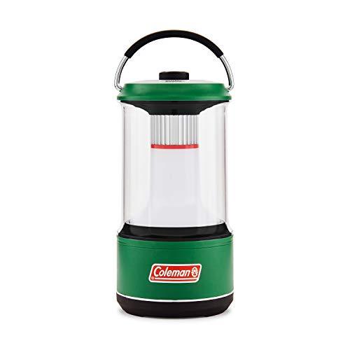 Coleman - Linterna LED (800 lúmenes, con protector de batería, color verde