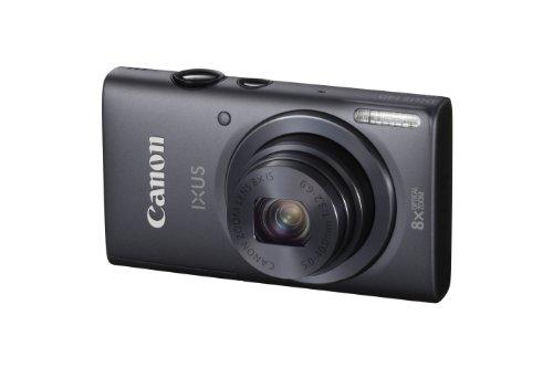 """Canon IXUS 140 - Cámara compacta de 16 Mp (pantalla de 3"""", zoom óptico 8x, estabilizador de imagen óptico, WiFi) color gris oscuro"""