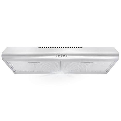 Cosmo 5MU30 30 in. Under Cabinet Range Hood with...