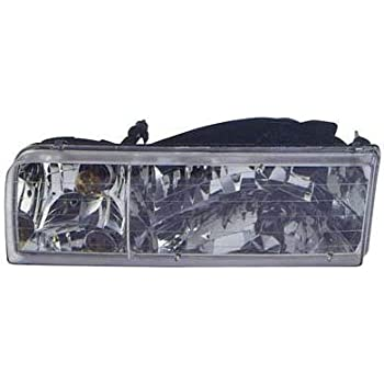 Unknown OE Replacement Lincoln Town Car Passenger Side Headlight Assembly Composite Partslink Number FO2503184
