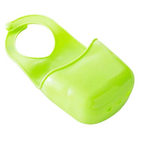 HoGau opbergbox voor keuken, badkamer, haken, opbergdoos voor spons, wasmand, toiletmand, opbergdoos, keuken, badkamer, sanitaire accessoires, gootsteen rek, gepolijst tas