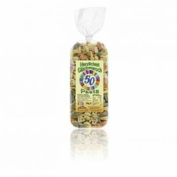 50 Herzlichen-Glückwunsch Motiv-Pasta bunt