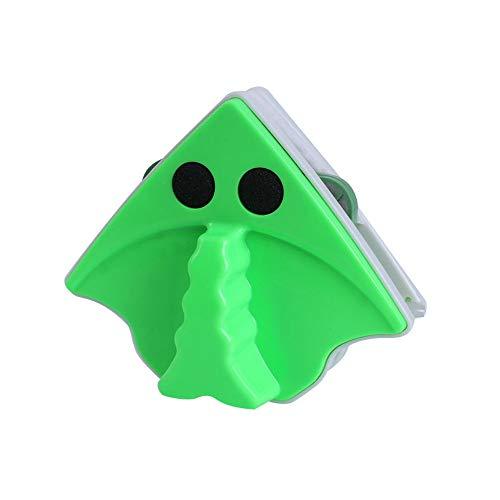 Rpanle Cepillo de Limpieza de Vidrio de Ventana magnética de Doble Cara, Limpiador de Limpiador de Vidrio Herramientas de Limpieza del hogar, Apto para Gafas de 15-24 mm de Espesor