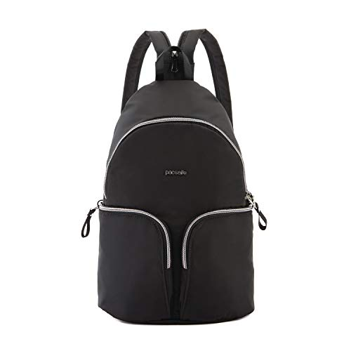 Pacsafe Women's Stylesafe Sling Backpack, Black, M